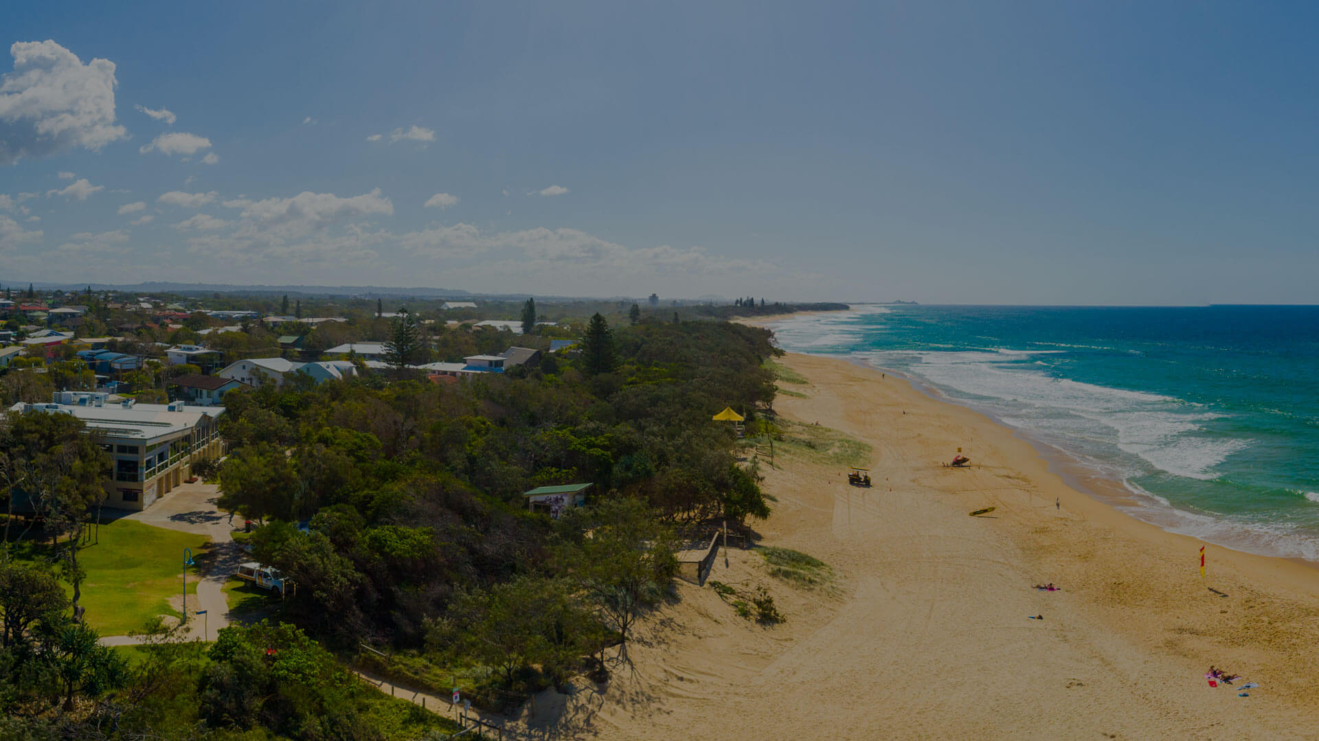 Dicky Beach Surf Club - Location
