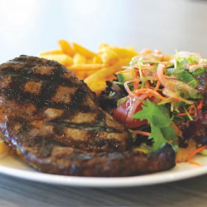 Dicky Beach Surf Club - Steak